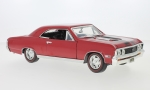 CHEVROLET Chevelle SS 396, dark red/black