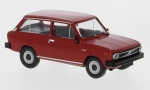 VOLVO 66 station wagon, red