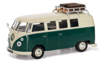 VW T1 1500 SP Devon Caravette (Type 2), green/white, RHD