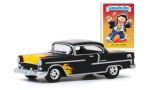 CHEVROLET Bel Air Tuning, black/Decorated
