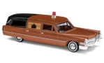 CADILLAC Station Wagon Hearse, metallic-brown/matt-black