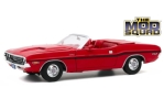 DODGE Challenger R/T Convertible, red/Decorated, the Mod Squad
