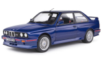 BMW M3 (E30), metallic-blue/Decorated
